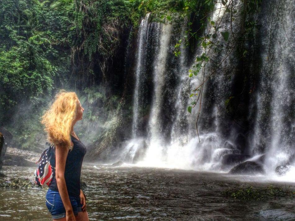 Mountainn Cambodia Girl Travel
