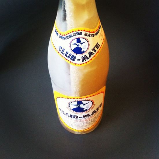 One very chilled #clubmate for a hot workday. Clubmate