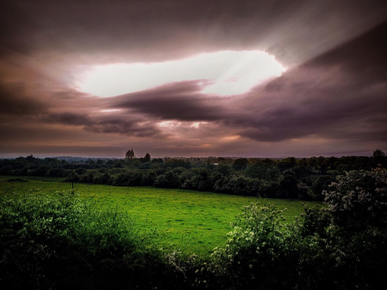 Landscape Sky Nature Field Grass Tranquility Beauty In Nature No People Scenics Sunset Outdoors Architecture Day Ireland