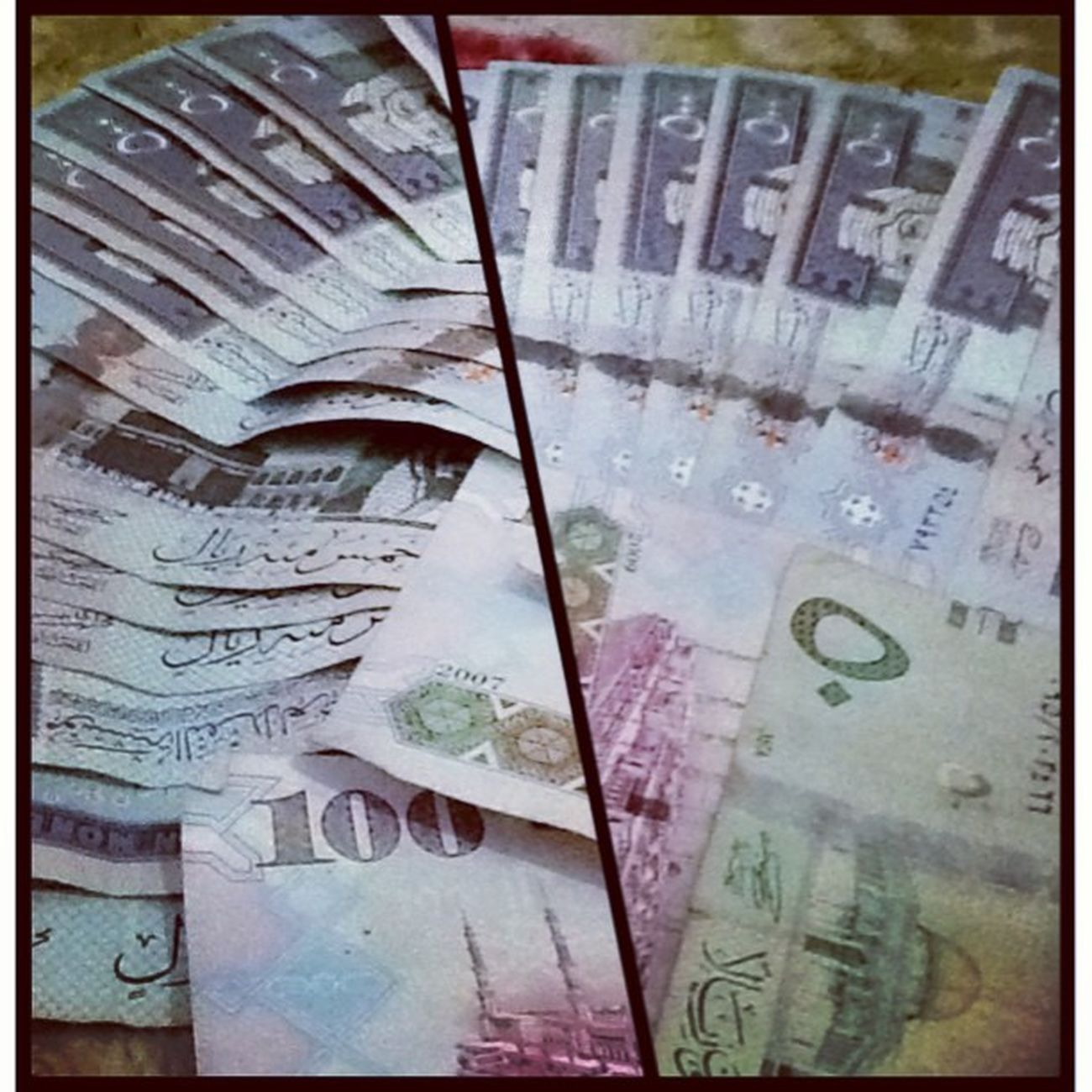 It's not about a Money, money, moneeeey ~ Jeddah Money Chaching