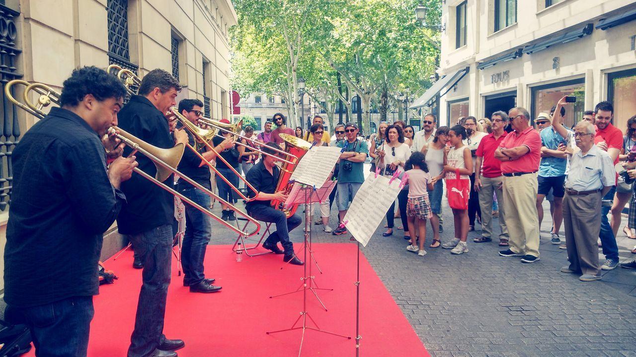 Dia De La Música Music Musica Musician Music Day Brass Instruments Instruments Brass Quartet Trombone Trombon Trombonist