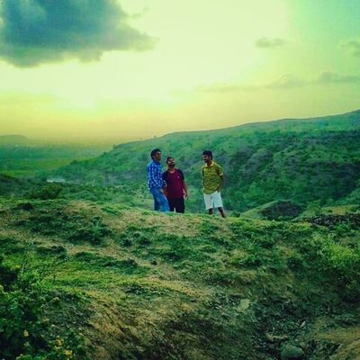 Friendship Nature Sunset Sky shoutout devlali deolalicamp devlalicamp deolali nashik nasik maharashtra india mountains clouds nashikgram beautiful