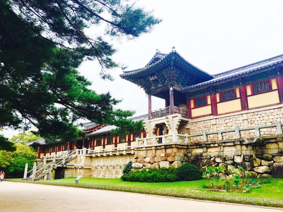 Bulguksa Temple(A.D.538) Architecture First Eyeem Photo Temple Korea Heritage UNESCO World Heritage Site