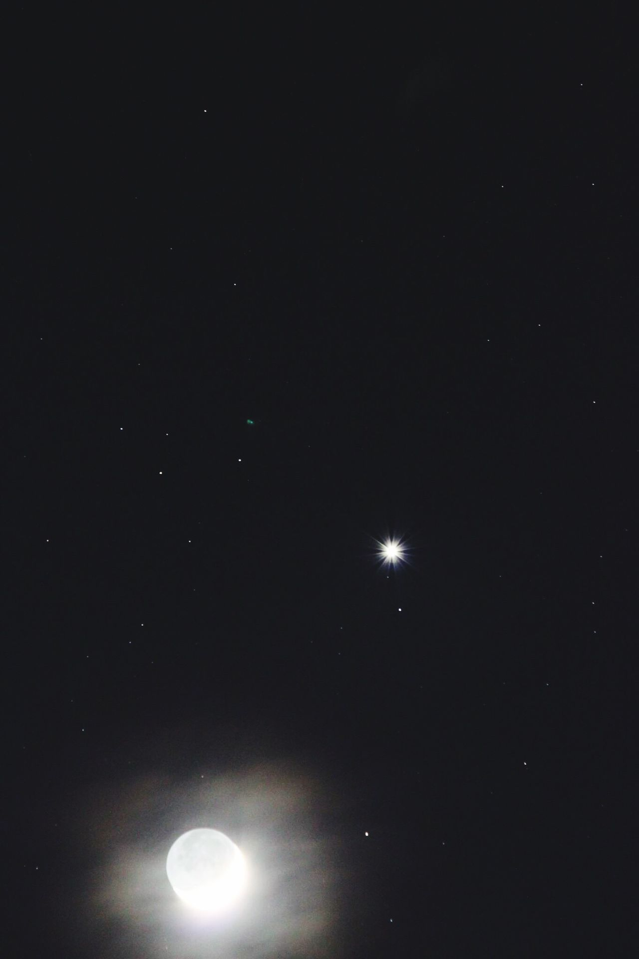 Moon and Venus really clear and mystic Night Moon Low Angle View Sky Astronomy Nature Space Beauty In Nature Scenics No People Outdoors Crescent Tranquility Planetary Moon Space Exploration Star - Space Half Moon Galaxy Solar Eclipse