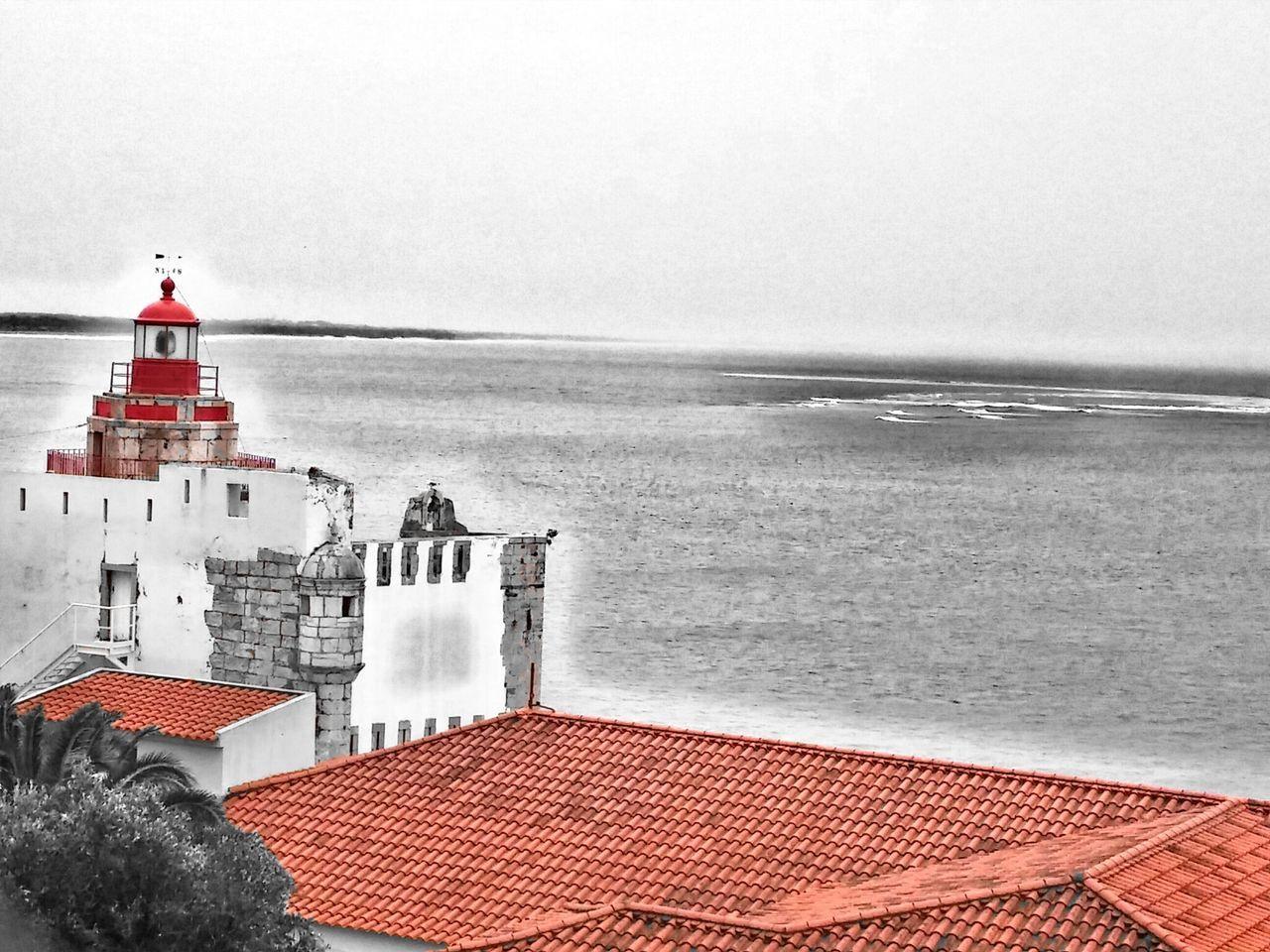 Sea, Light and Fort Historical Building Lighthouse Fortaleza EyeEm Best Edits