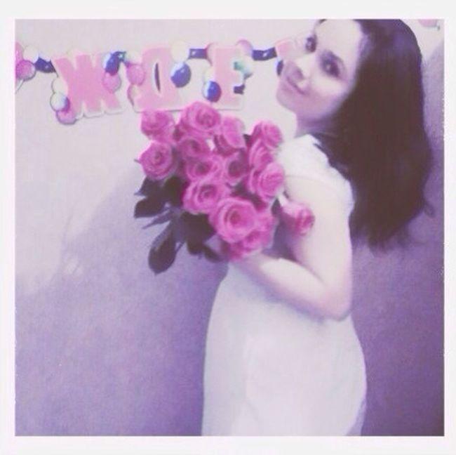 Happyhippiebirthday Girl Roses Beautiful my friend❤️