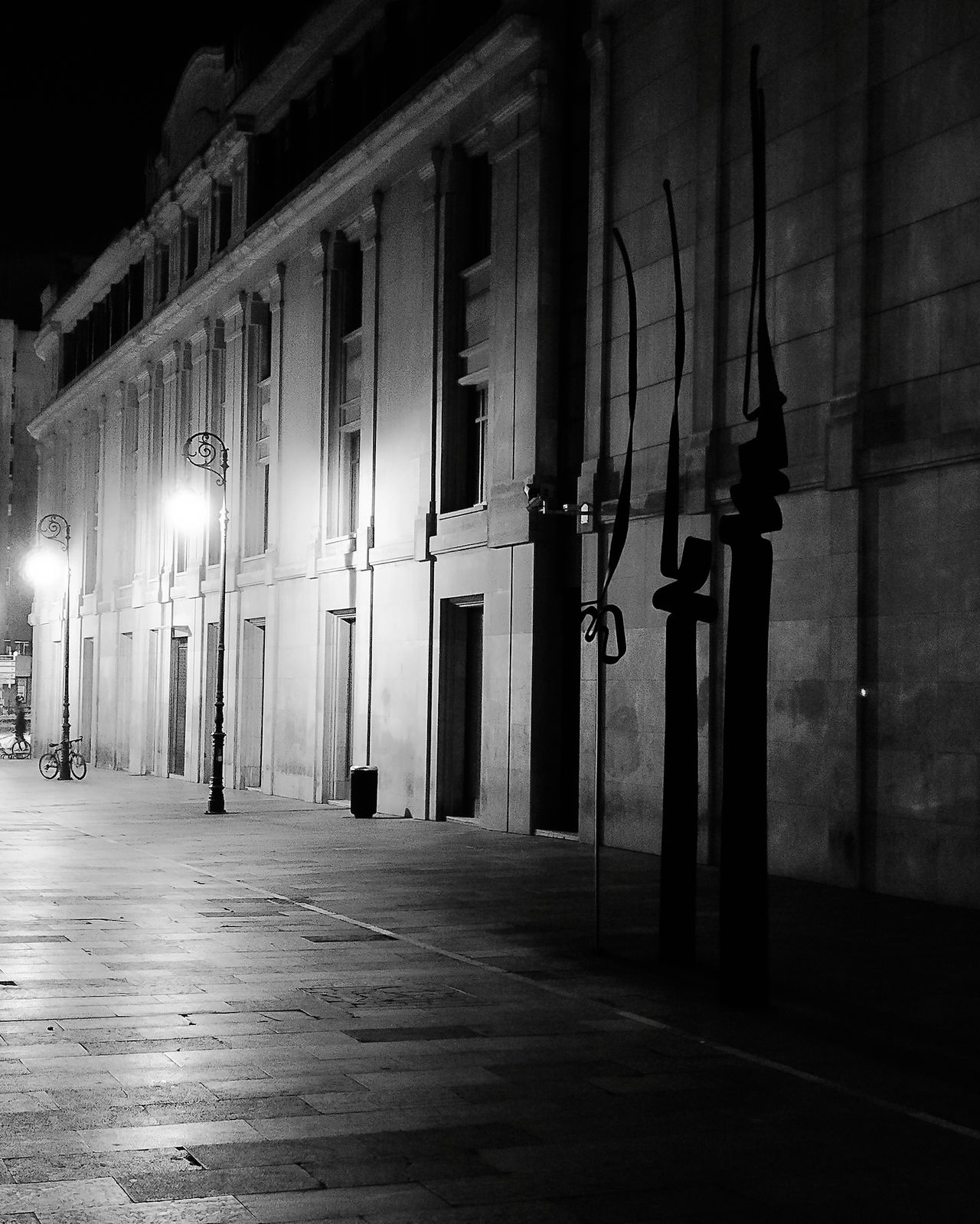 Calle Pilotos Regueral Architecture Night Illuminated Built Structure No People Outdoors Night Lights Nightphotography Building Exterior LeonEsp