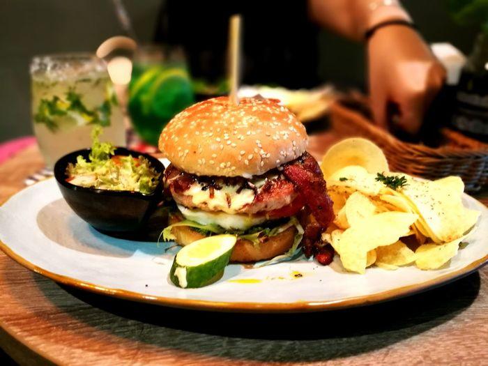 The Piggy World Burger ! First Eyeem Photo