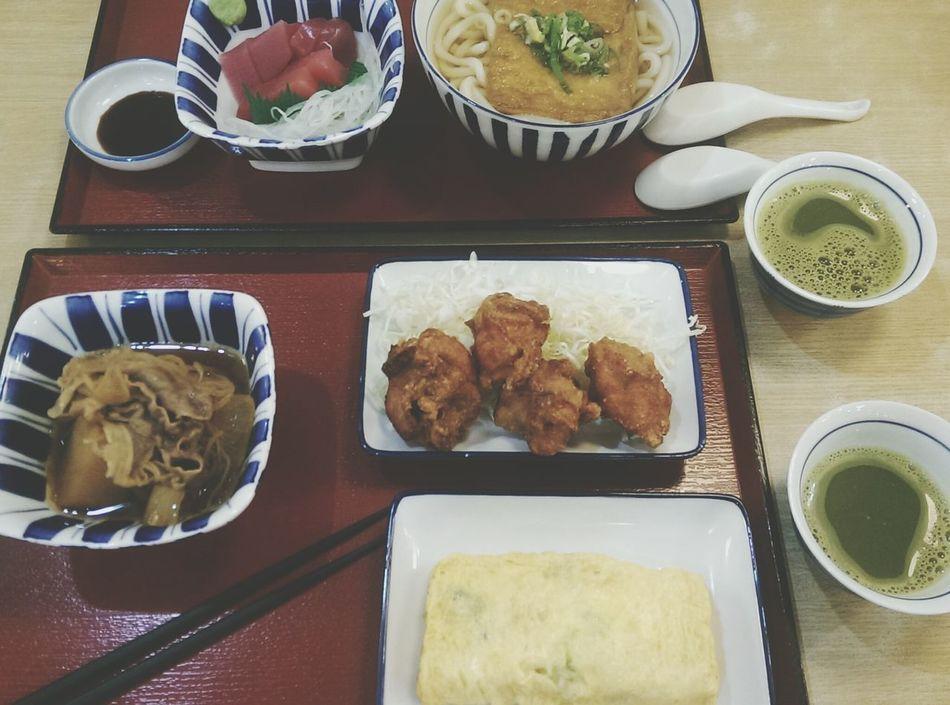 Japanese dinner time