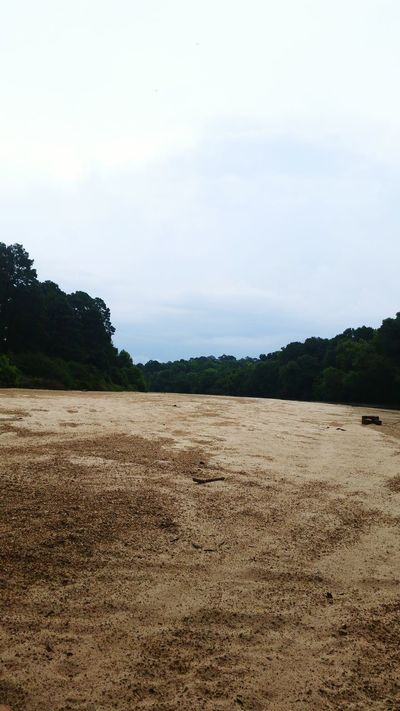 Riverbank Sand Sandbar Sky Outside Photography Mississippi  Country Life Storm Approaching