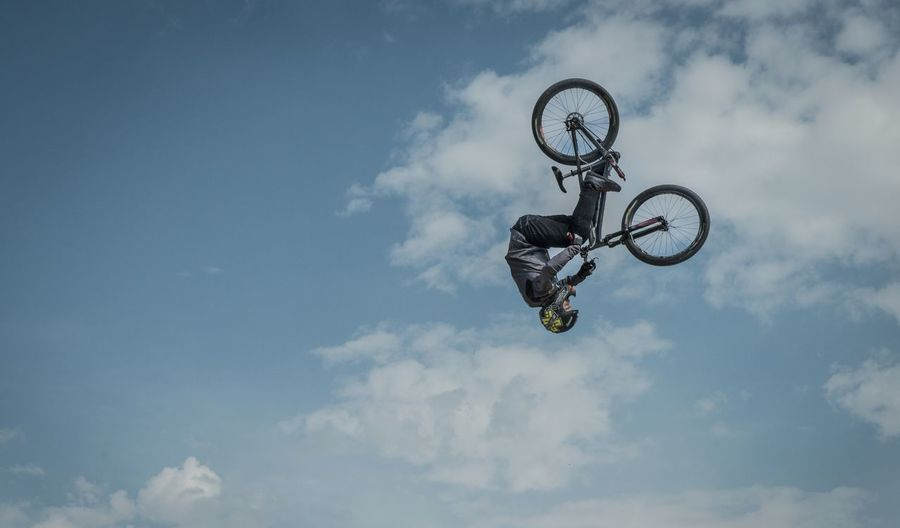Slopestyle Jump Dirtbike Mountainbike Munich Mash Frontflip Munich Action Sports Going The Distance Negative Space Adrenaline Junkie Celebrate Your Ride The 00 Mission The OO Mission Adventure Club