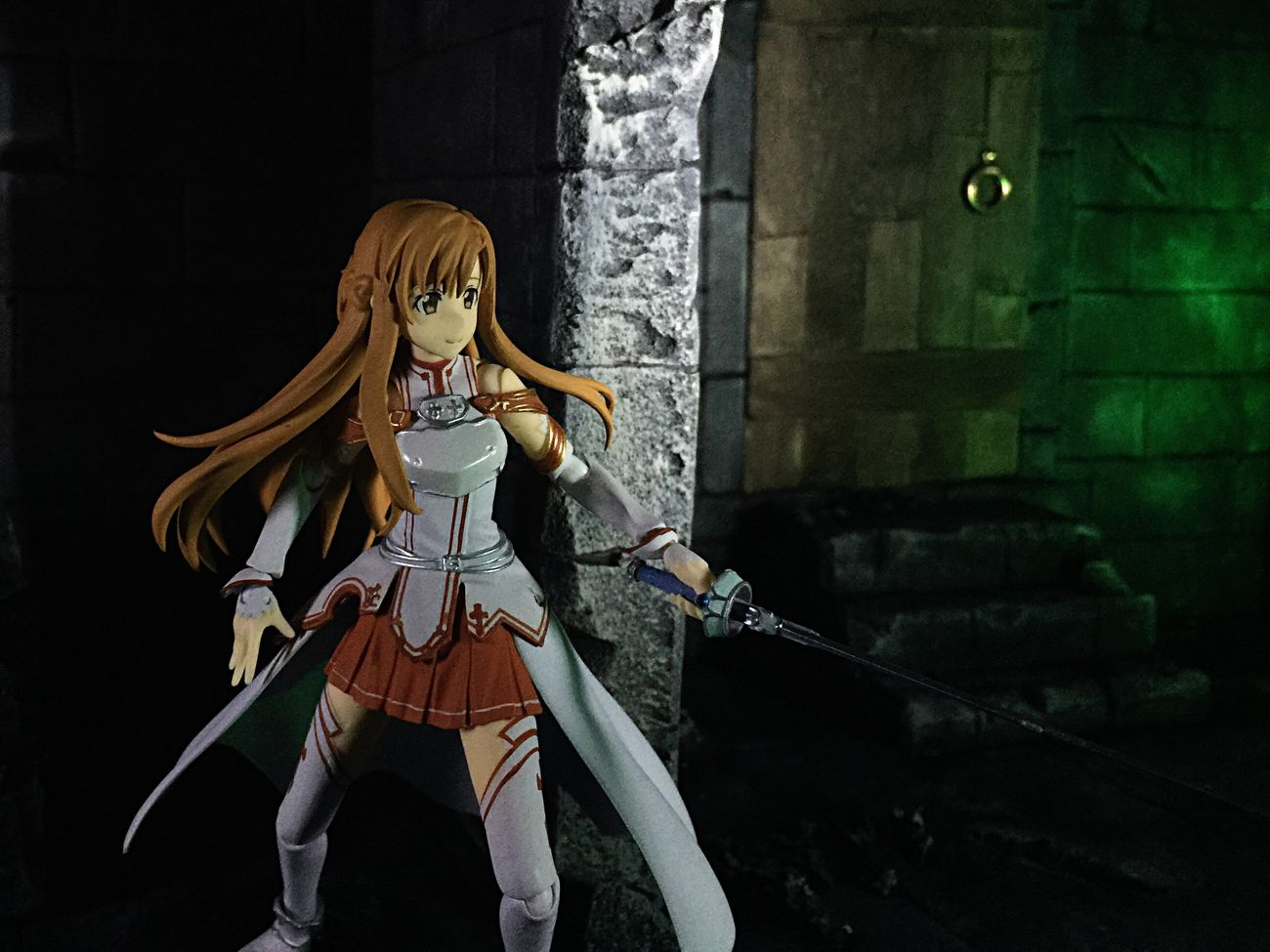 Asuna from SwordArtOnline Sao Anime Toyphotography Toycollector Castle Diorama