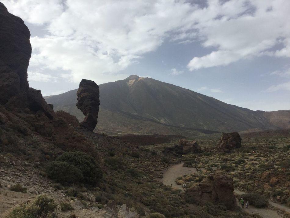 Teide con el roque Mountain