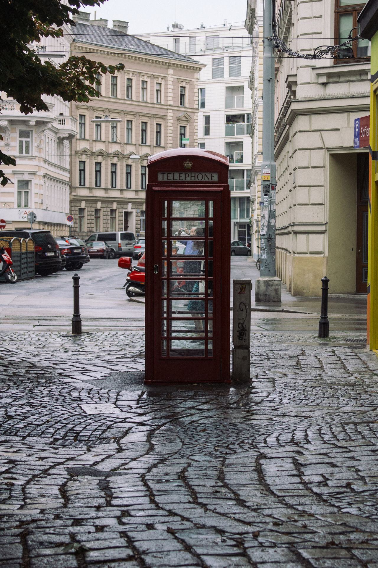Architecture Building Exterior Built Structure City City Street Outdoors Telephone Booth