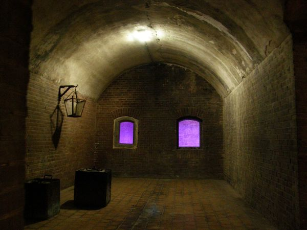 Arch Architecture Built Structure Defence History Illuminated Indoors  No People Pampus Netherlands Stuffy Window