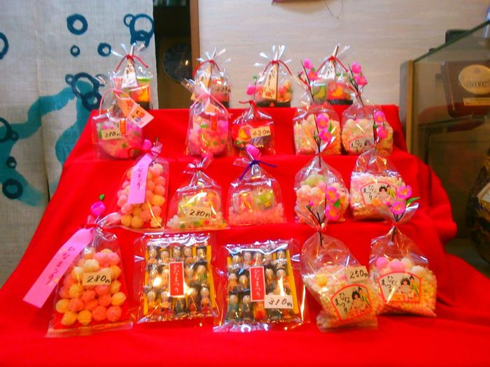 Momonosekku is comming soon.It is very traditional and popular event in Japan for girl.It is similar with real dolls but sweets on the red carpet.we call Hisenmou. Traditional Culture Ohinasama