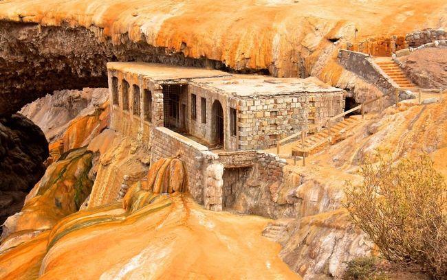 Puente Del Inca Argentina Ancient Rock - Object Archaeology No People Outdoors Ancient Civilization Horizontal Quarry Day