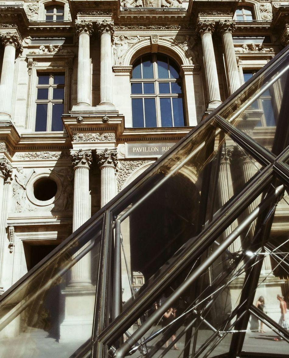 Louvre Pyramide Du Louvre Architecture