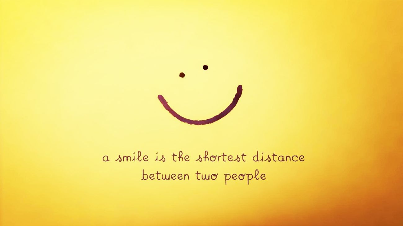 Just Smile ✌