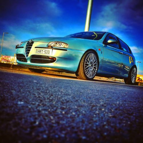 Car Old-fashioned Retro Styled Transportation Collector's Car No People Outdoors Sky Day Close-up Alfa Romeo Alfa Alfaromeo147 Alfa147 Alfaromeo