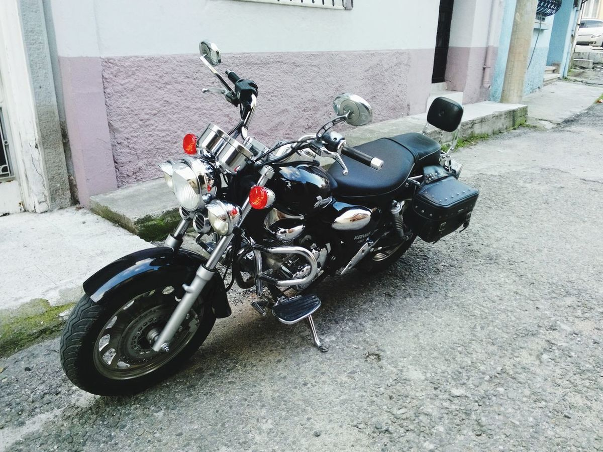 Motorbike Lovemotorcycles Enjoying Life