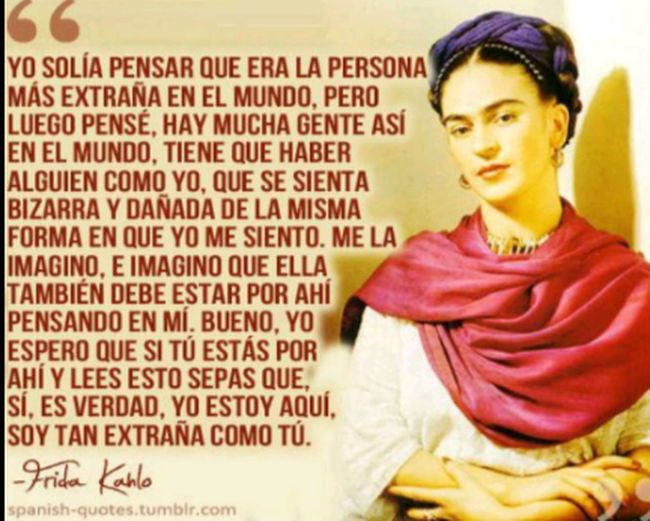 We Are All Mad Here de poeta y locos todos tenemos un poco Frida Rocks FridaFrases Happy International Women's Day Feliz Dia Internacional De La Mujer Guerrera Mujeres Divinas