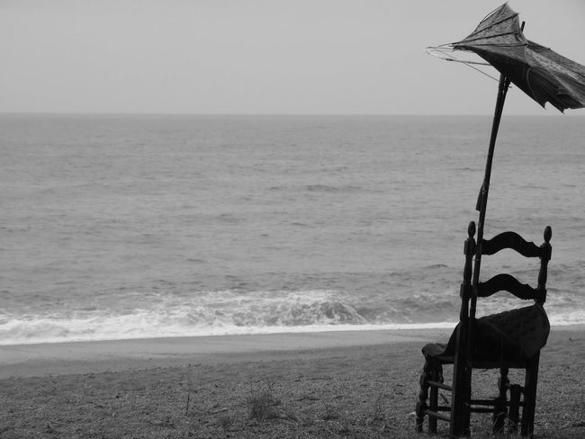 """""""destroyed"""" Alone Art Autumn Beach Blackandwhite Destroyed Endofsummer Fall Gray Horizon Over Water Loneliness Monochrome Nature Outdoors Sadness Sea Seascape Storm Umbrella Water Waves Wind"""
