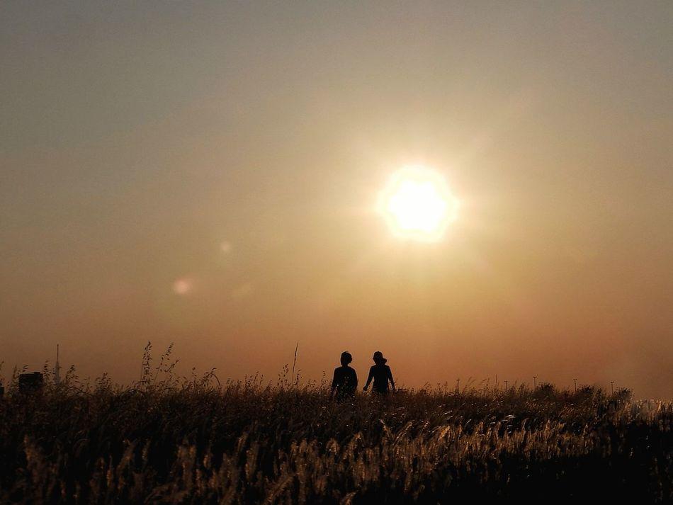 """『 天国の岸に私と一緒に歩いて、 私と一緒に永遠に歩こう..👫💑 』  """"Walk with me"""", i heard him say, """"Walk with me awhile today."""" Share with me the things you feel, Share with me so you can heal. Walk with me on Heaven's shore, """"Walk with me forever more!"""" ― Poem by Greg Olsen, 'Walk with me'   💕HAPPY VALENTINE!💕   Love ♥ Happy Valentines Day ❤ Love Is In The Air Valentines Day ❤ やっぱり空が好き 無加工 カコソラ 夕焼け シルエットロマンス シルエット部 Sunset Silhouettes Sunset_collection Sunset Silhouette Dusk Twilight Two People Beauty In Nature From My Point Of View EyeEmNewHere EyeEm Best Shots - Sunsets + Sunrise EyeEm Gallery EyeEm Best Shots - Nature Fullframe NoEditNoFilter The City Light"""