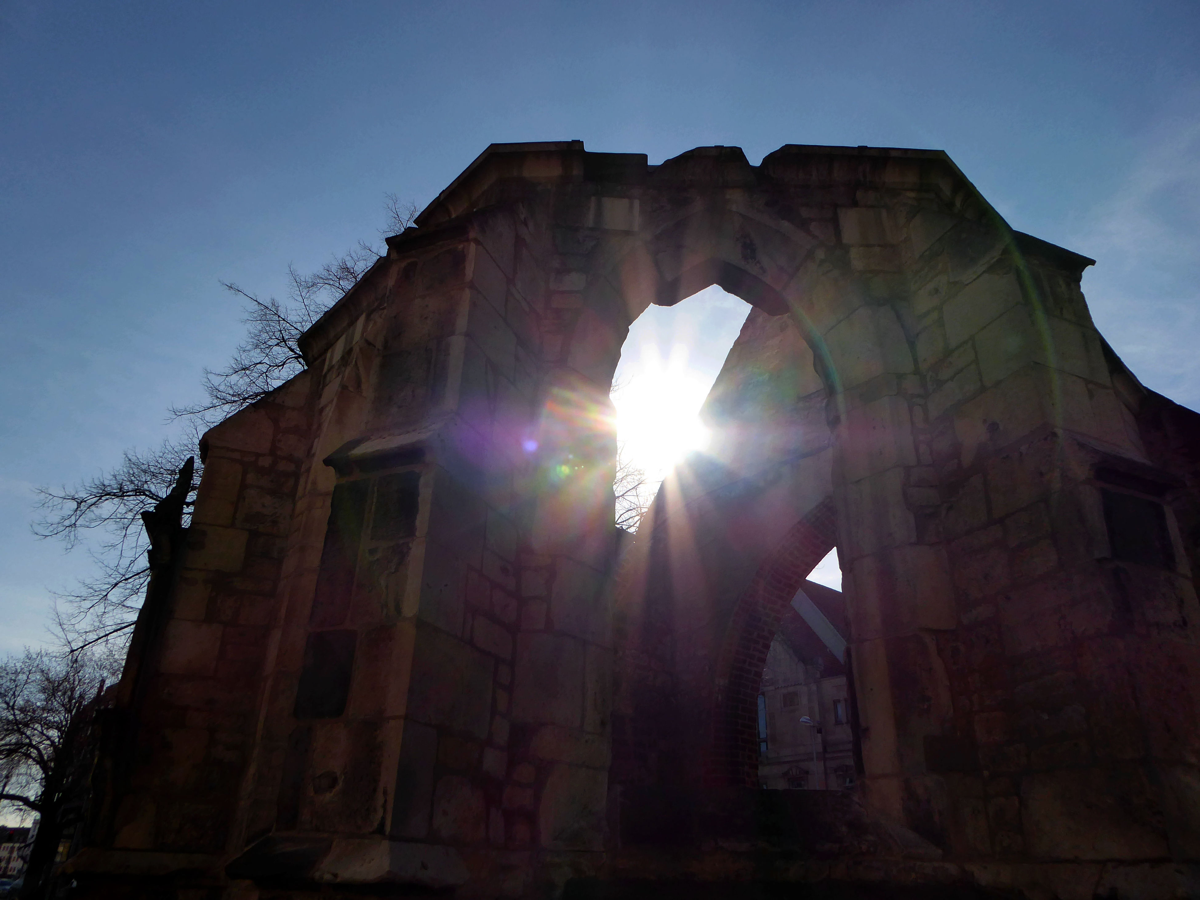 Sunbeams Through The Ruin😍 Sunlight Sunny Day In Spring😍 Bicycling Favorite Places Idyllic For My Friends 😍😘🎁 Ruins Still Beautiful Tranquil Scene Simple Beauty Beauty In Nature Tranquility Looking Up😍 Sunbeamlovers Sunbeam Capture The Moment Lensflare Photo Love Lensflares