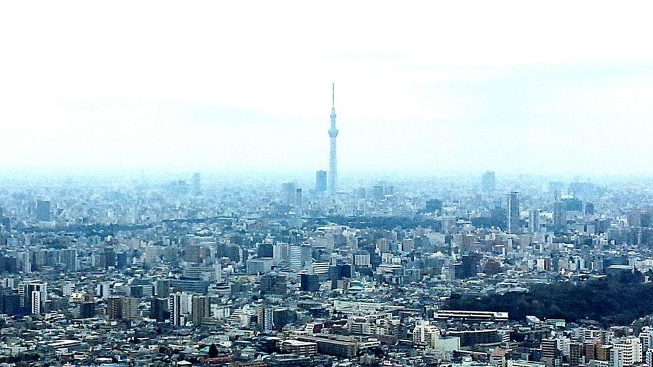 Peace In Heaven Tower Tokyo Sky Tree Urban Landscape Hello World