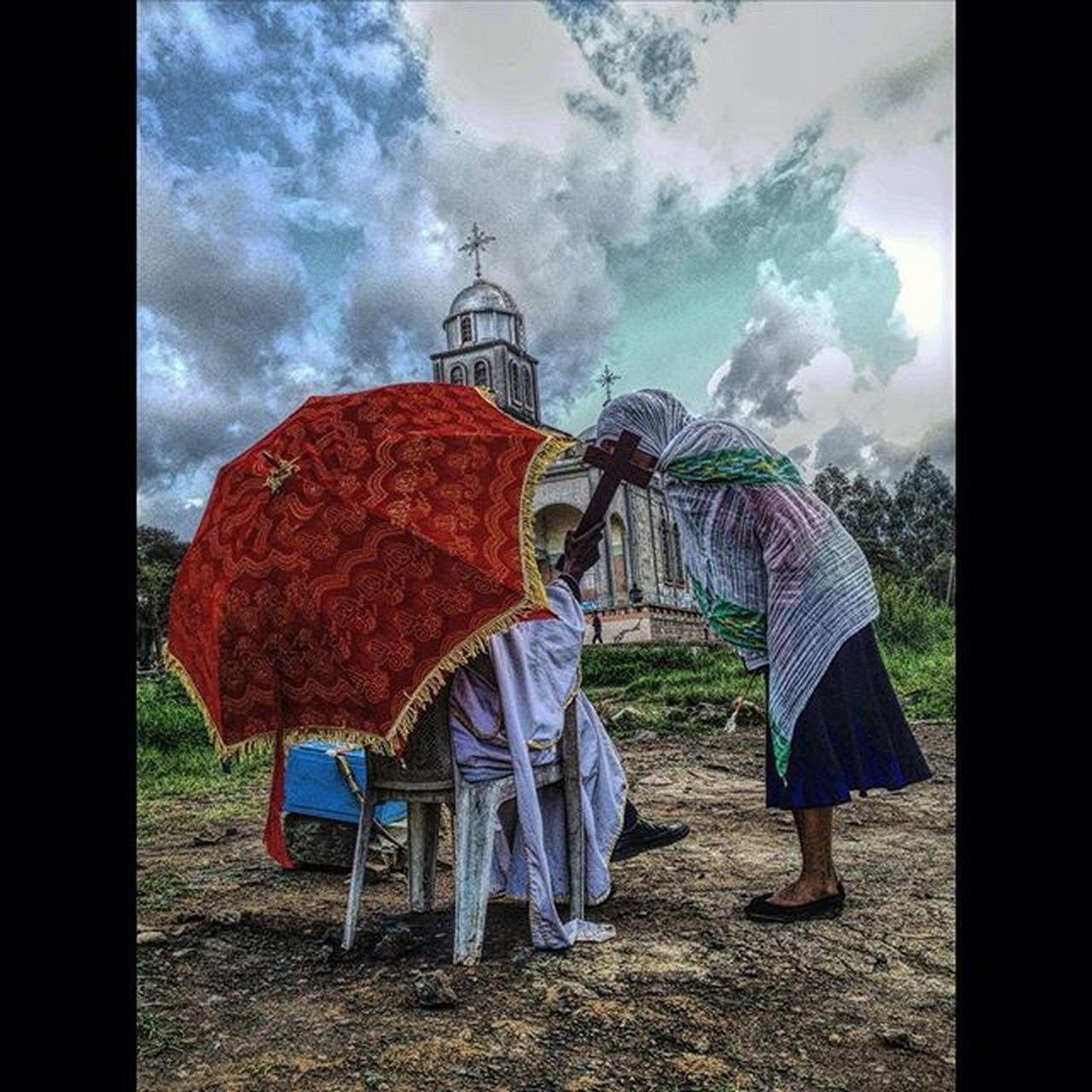AddisPicOfTheDay TsomeFilseta Filseta EgziabeherAb Church Megenagna Addis  Addisababa Ethiopia Ethiopian Africa Everydayafrica EthiopianOrthodox EthiopianOrthodoxTewahedoChurch Meskel BirukGerbiPhotography