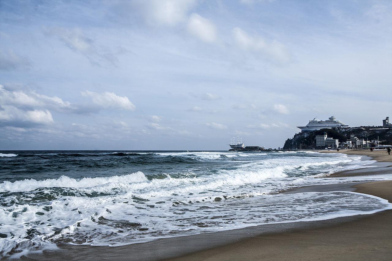 Jeongdongongjin] Gangreung South Korea Korea Winter Sea Beach