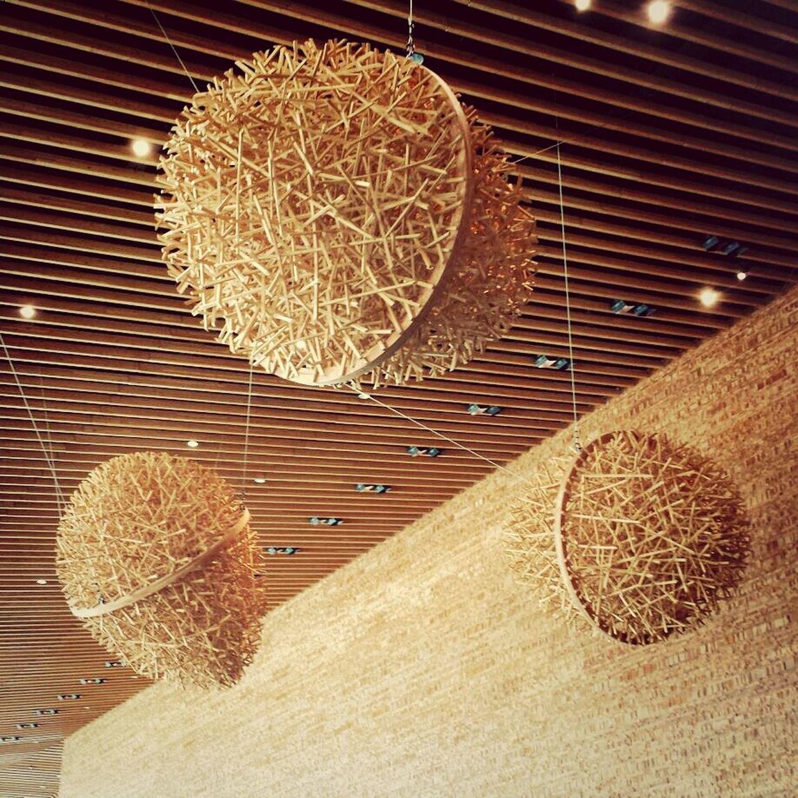 Balls of wood