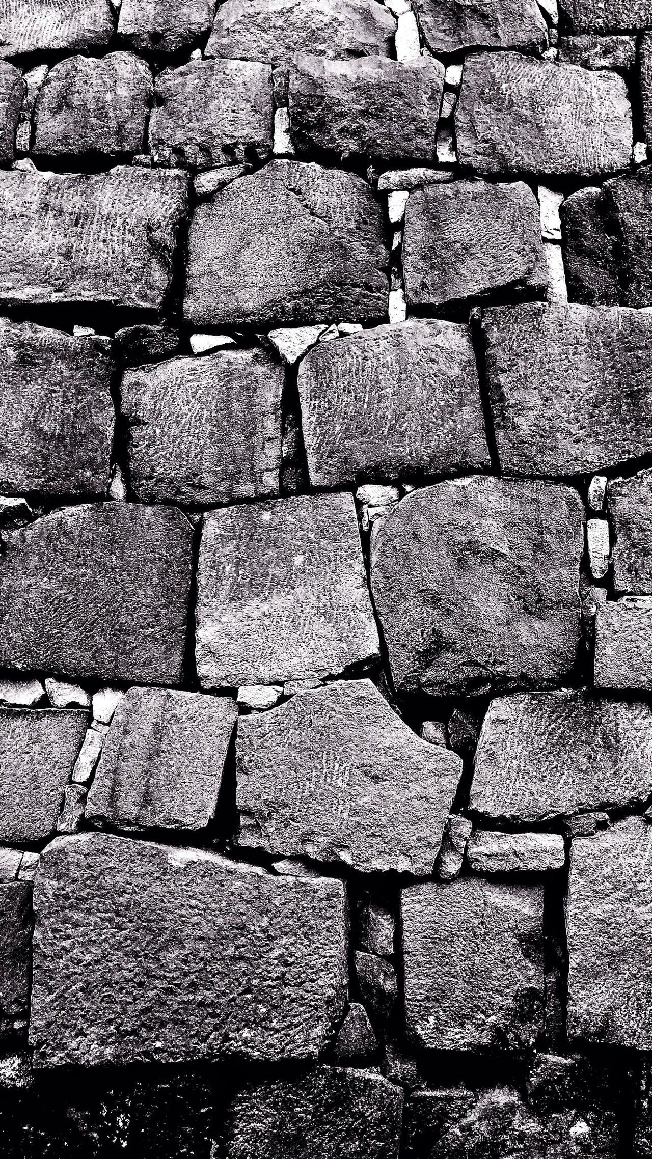 Blackandwhite Bw_collection Stone Wall