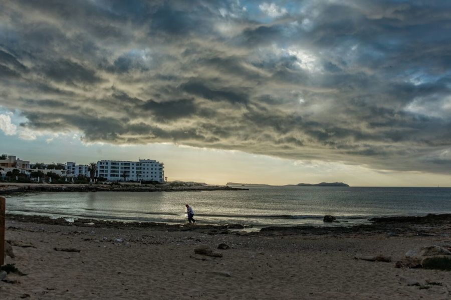 Nikon D610 Ibiza Beach Sol Y Nubes