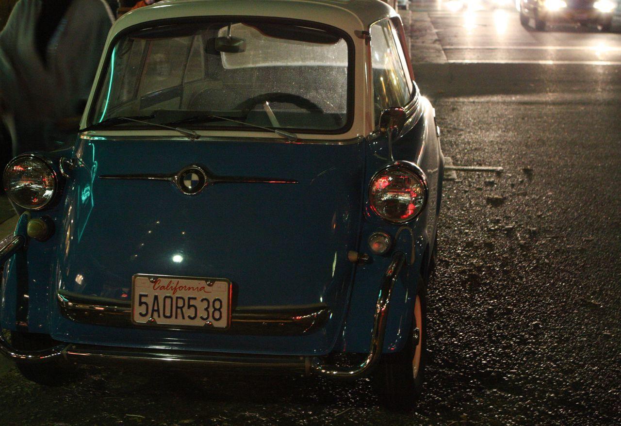 Santa Cruz Bmw Mini Old Car Vintage Cars California Isetta