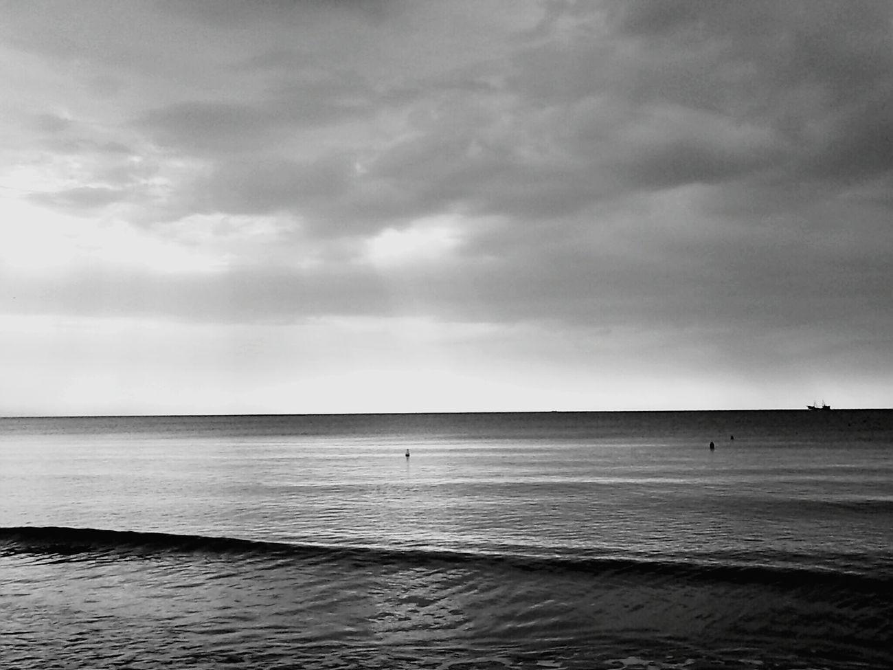 Sea Greyscale Greysky Last Summer Bestmemories