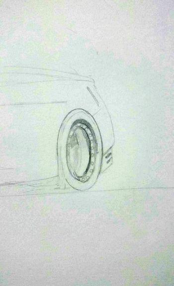 Wheel Design Sketching Sketch Inprogress Draw Automotive Detail Designing Supercar Bnw