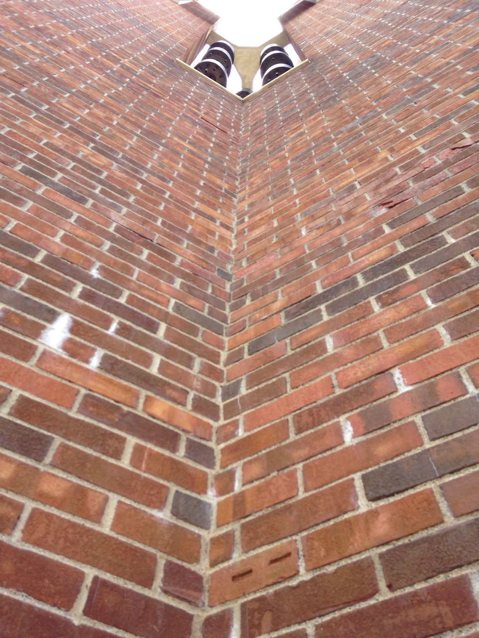 brick wall, low section, architecture, day, one person, outdoors, people