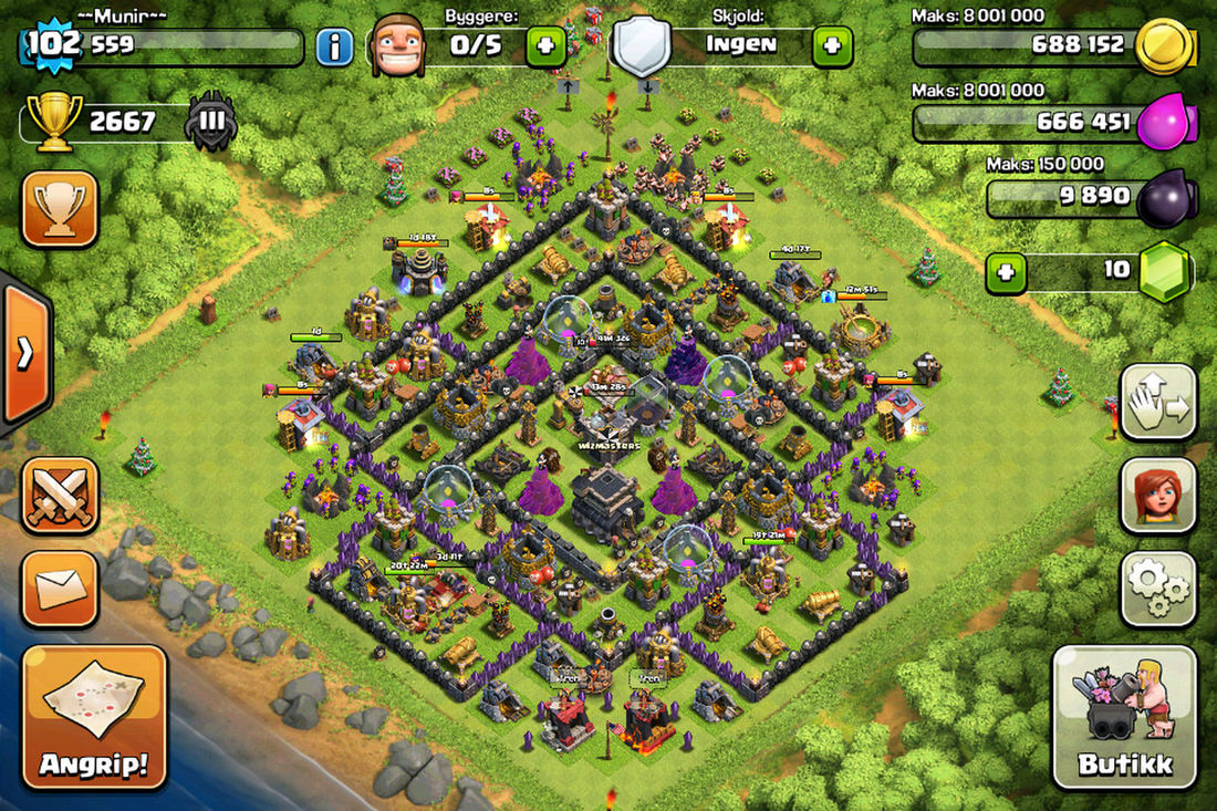 Clashofclans Clash Of Clans Clash IPhoneography Video Games Playing Games