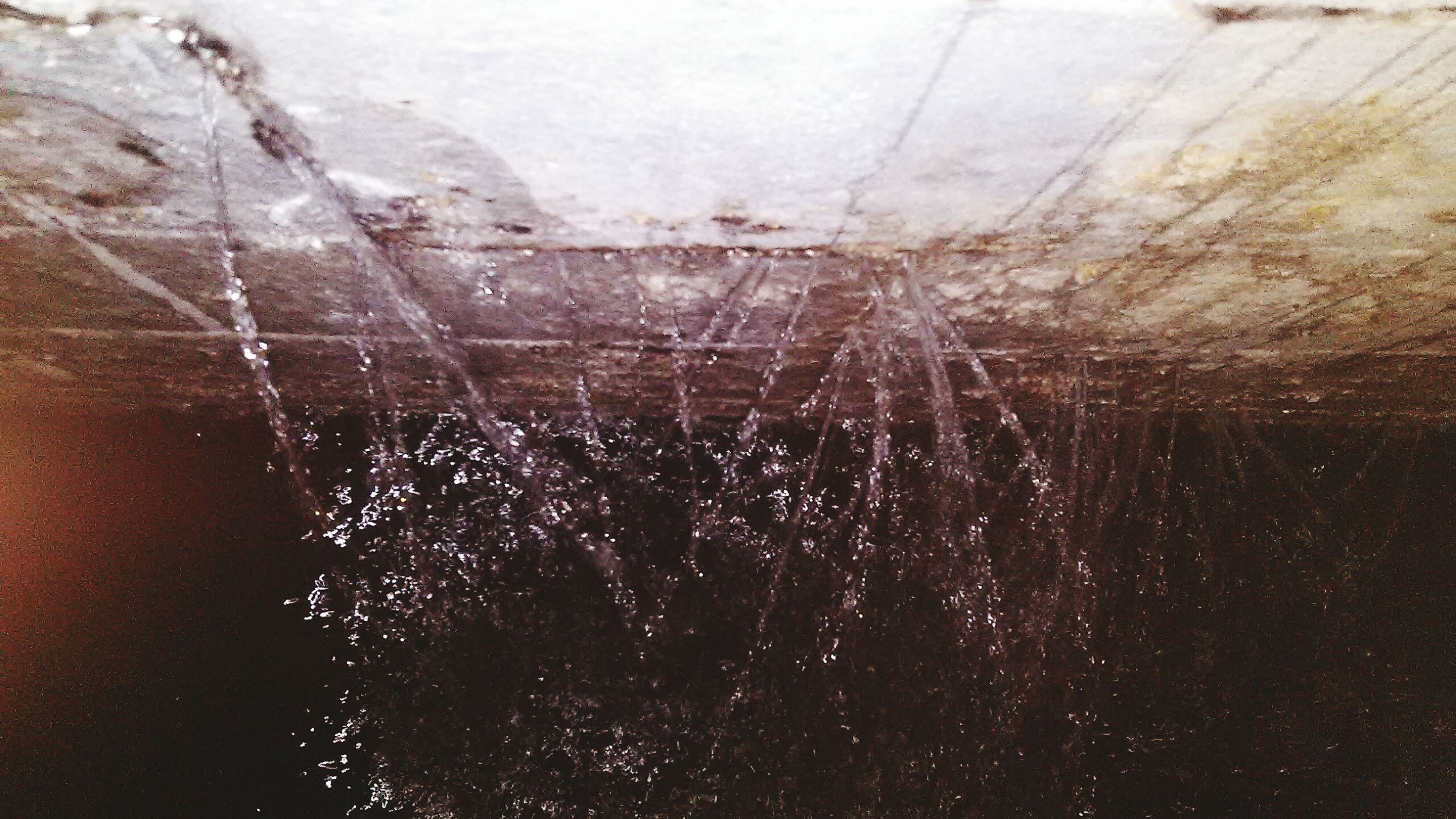 water, full frame, indoors, backgrounds, textured, transparent, window, wet, high angle view, pattern, glass - material, close-up, day, no people, wall - building feature, nature, reflection, season, built structure, rain