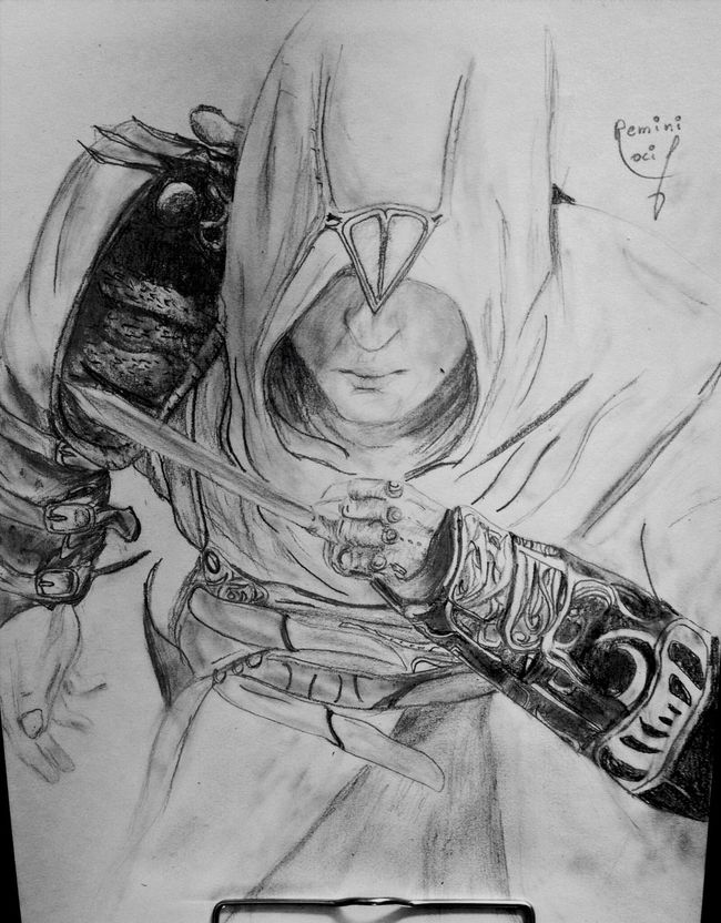 BREAKING the law Assassins Creed Drawing Draw Art