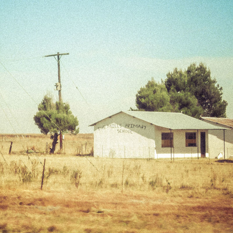 Africa Architecture Barn Building Exterior Built Structure Day Farm Field Nature No People Old School Outdoors Processed Image Rural Scene Rural School Sky South Africa Tree