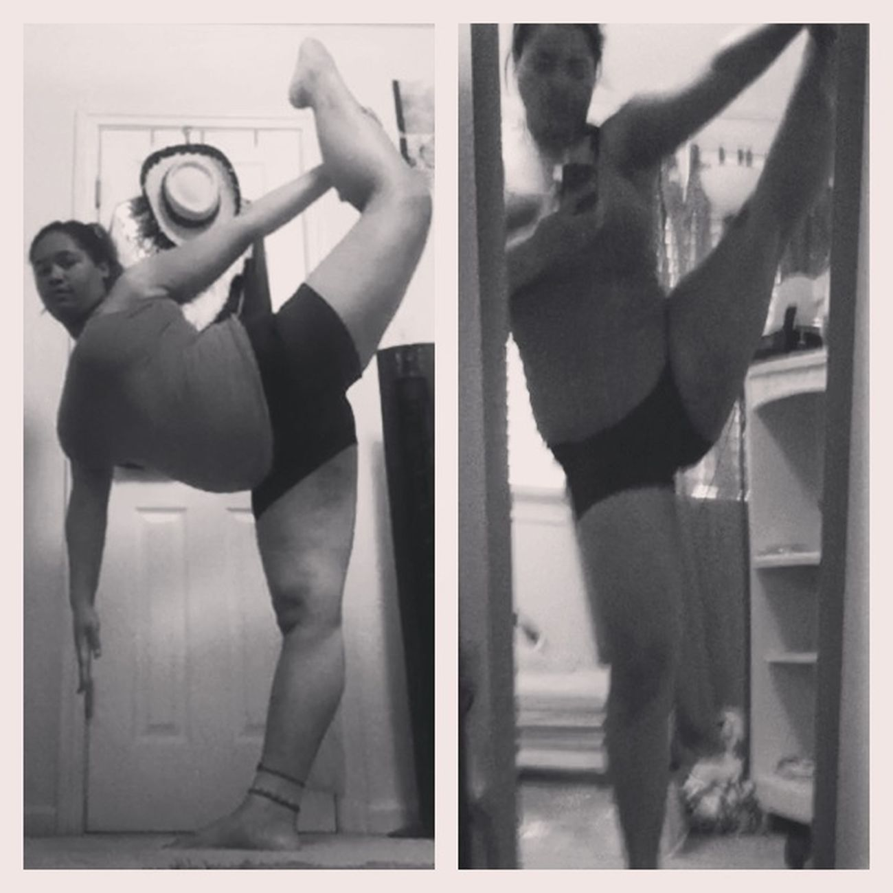 Working To Get This Leg Straight! #dancer