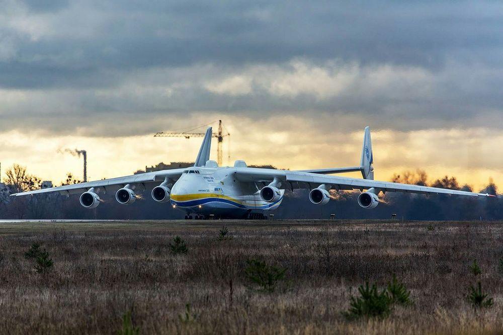 Antonov 225 in Gostomel, Ukraine Antonov 225 Gml