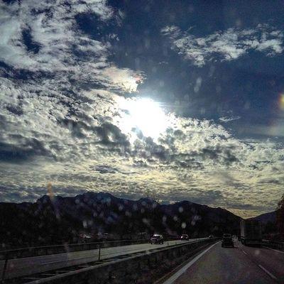 Chiemsee Amazing Clouds Sun Einfach schön