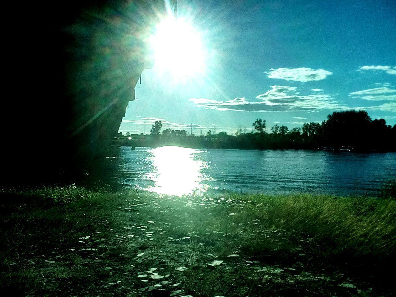 Bright Sun Amazing View Lake View Daytime Nice Sunshine