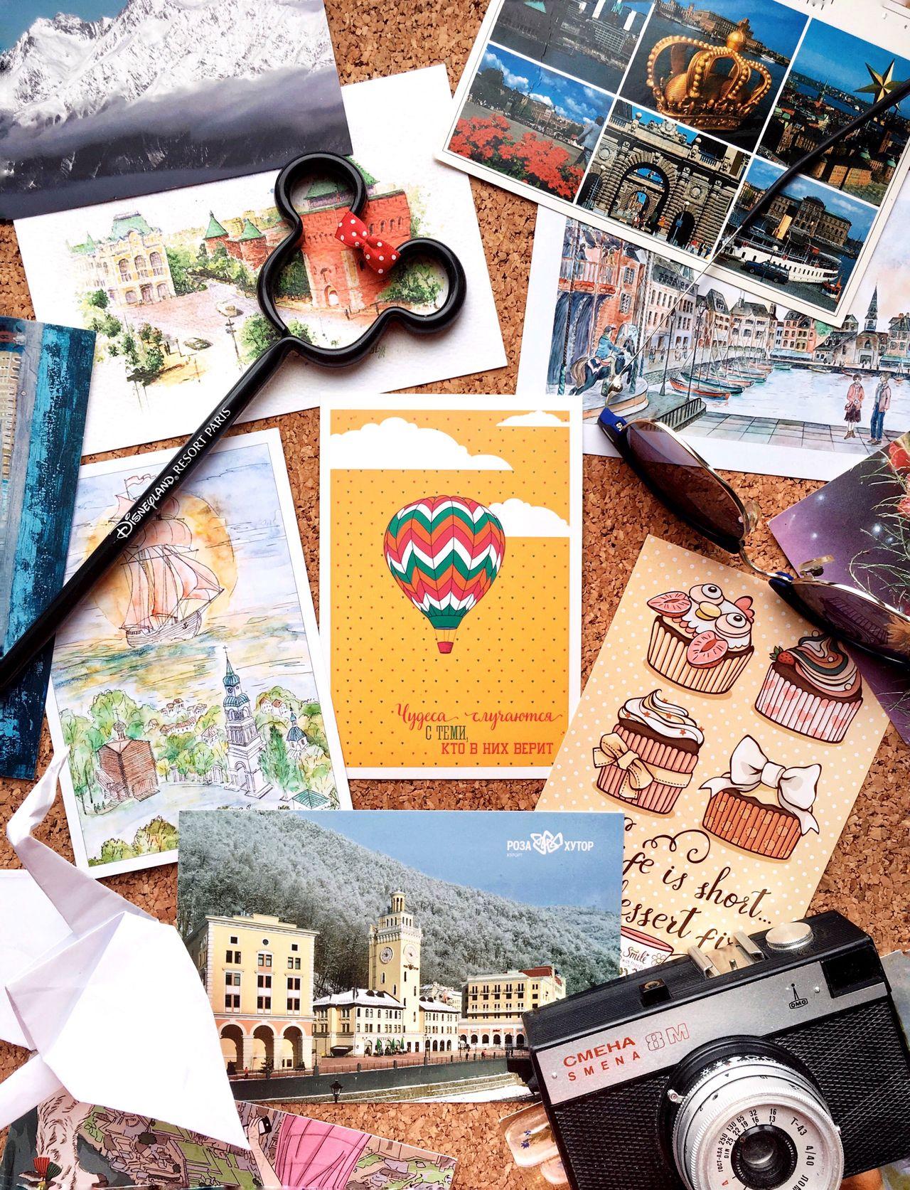 Flatlay Flatlayphotography Flatlayoftheday Cork Flatlays Post Postcrossing Postcards Onmytable