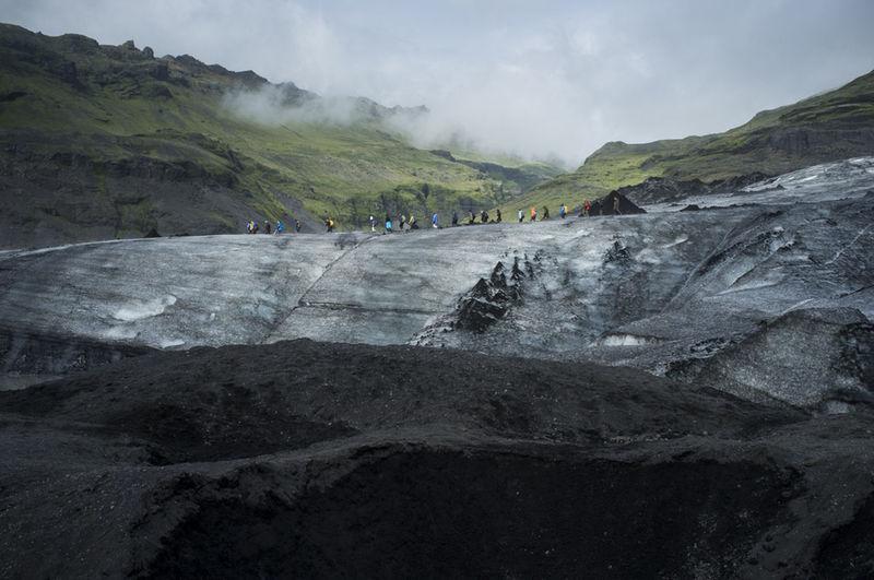 How Do You See Climate Change? Iceland Glacier Skaftafell Defrost Globalwarming