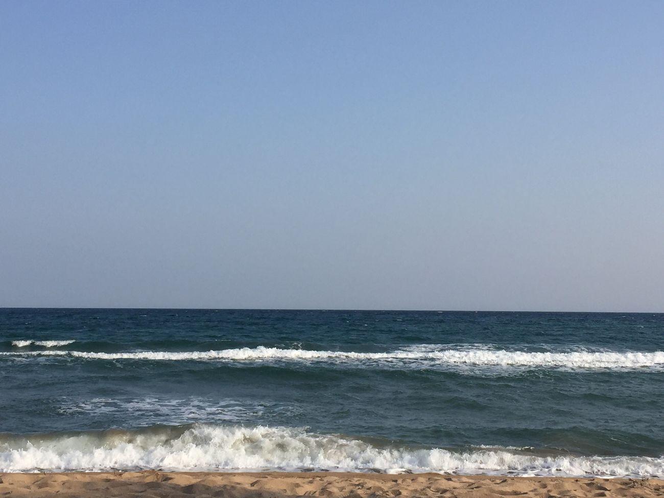 Sea Horizon Over Water Water Beach Nature Beauty In Nature Tranquility Sky Skyfie CIELFIE Mer Méditerranée Mer Mediterranée Côte D'Azur Bord De Mer